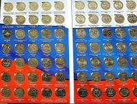 Полные тематические коллекции (альбомы с монетами)
